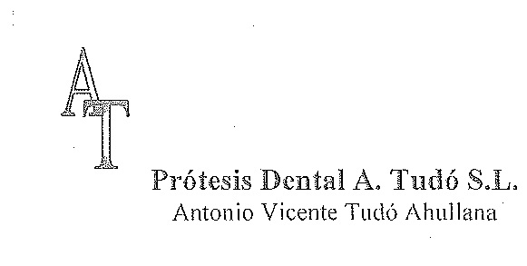 Prótesis Dental A. Tudó